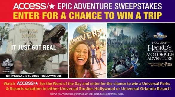Access Epic Adventure Sweepstakes