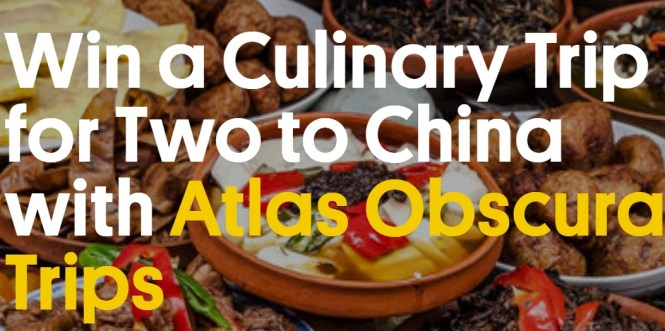 Atlas Obscura China Trip Giveaway