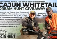 Buckmasters Whitetail Dream Hunt Giveaway