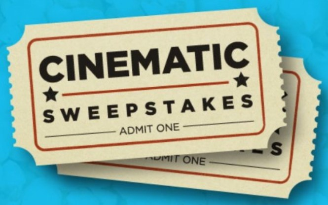 Check Into Cash Cinematic Sweepstakes