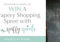 Drapery Shopping Spree Sweepstakes