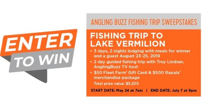 Fleet Farm Angling Buzz Fishing Trip Sweepstakes