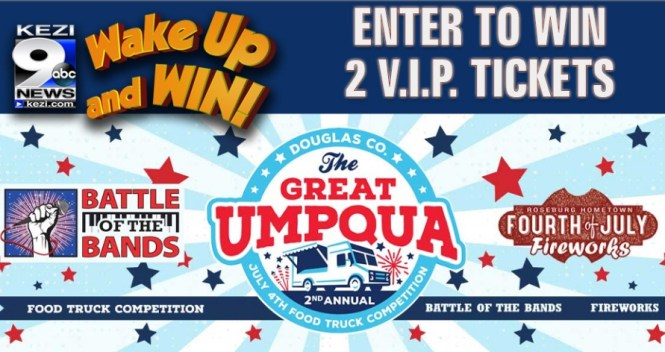 Kezi Great Umpqua Food Truck Competition Contest