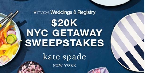 Macys $20K NYC Getaway Sweepstakes