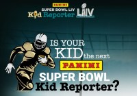 Panini Super Bowl Kid Reporter Sweepstakes