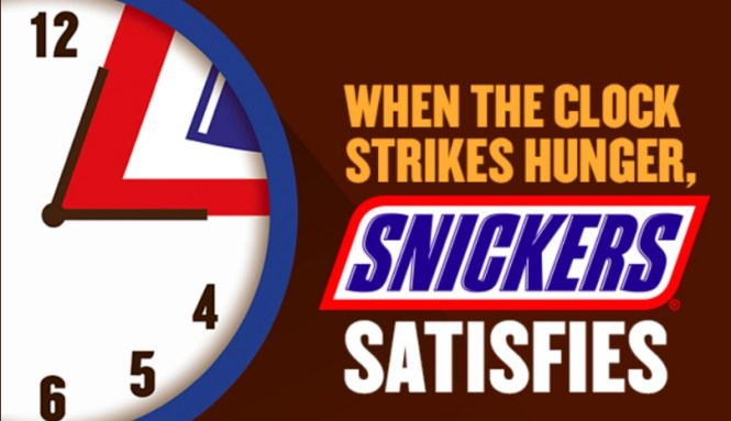 Snickers Hungry Hour Instant Win Game