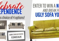 WWL-TV Comeaux Ugly Sofa Contest