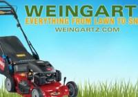 Weingartz Lawn Mower Giveaway