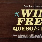Abuelos Queso For Life Sweepstakes