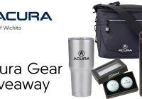 Acura Gear July Giveaway