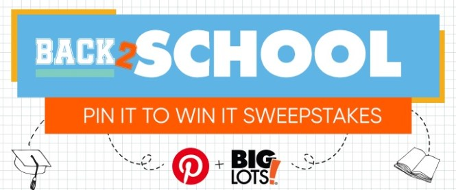 Big Lots Back To Campus Sweepstakes