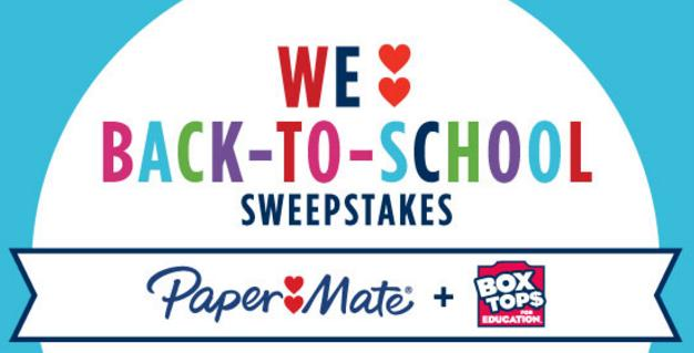 Box Tops Back To School Sweepstakes - Win 50,000 Bonus Box