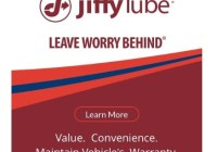 Jiffy Lube Oil Change Certificate Sweepstakes