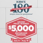 Kirks 180th Anniversary Sweepstakes