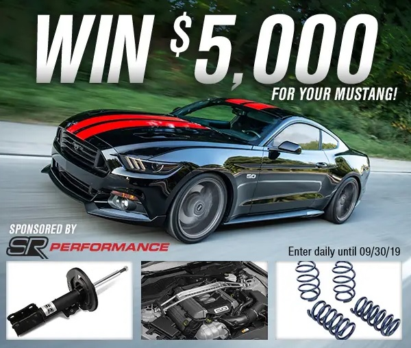 SR Performance $5,000 Giveaway