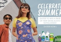 Seventh Generation Bose Audio Sunglasses Giveaway