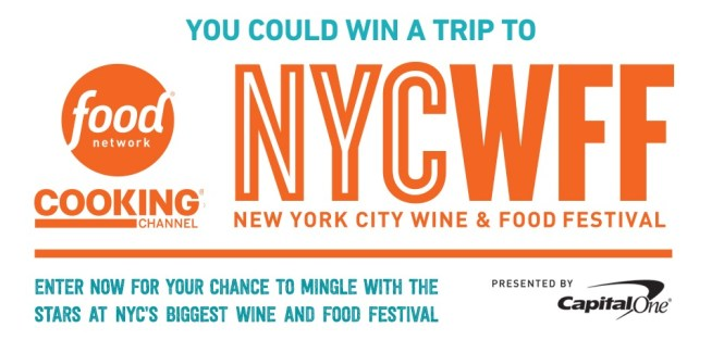 Food Network Wine and Food Festival Sweepstakes
