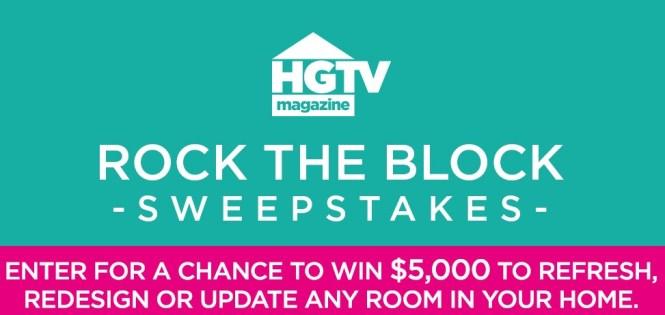 HGTV com Home Renovation Sweepstakes 2019 - Chance To Win