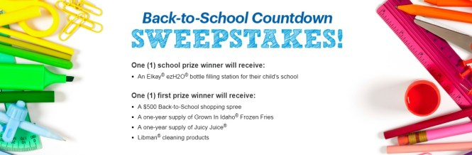 Parents Magazine Back To School Sweepstakes 2019