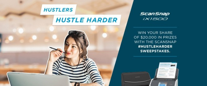 ScanSnap Sweepstakes