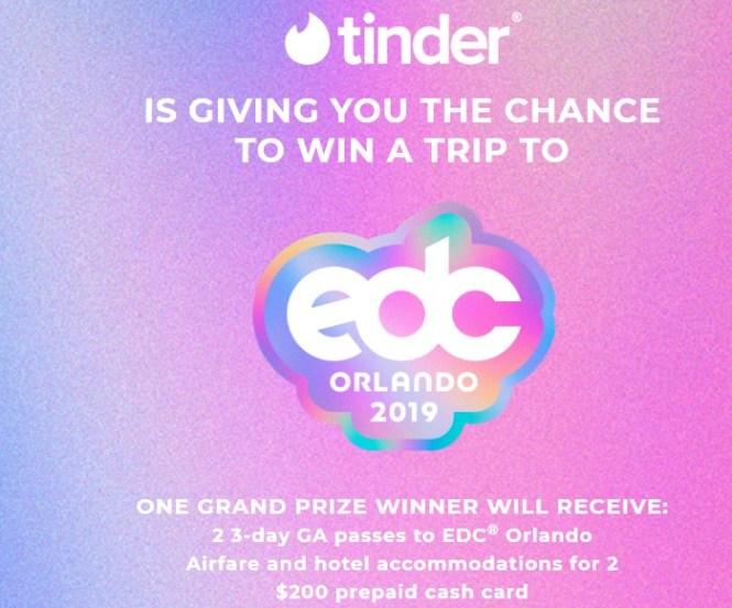 EDC Festival Orlando Flyaway Sweepstakes