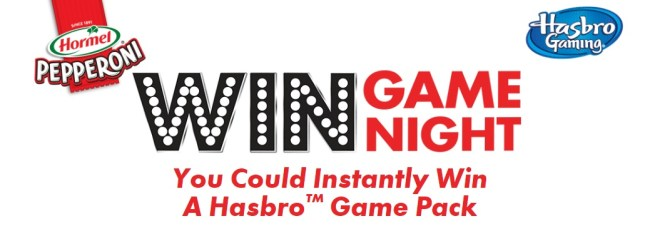 Hormel Game Night Instant Win Game