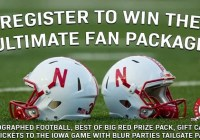 Nebraska Ultimate Fan Package Sweepstakes