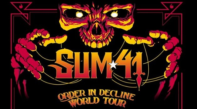 Sum 41 Tickets Giveaway