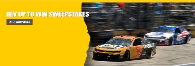 Caterpillar Rev Up To Win Sweepstakes