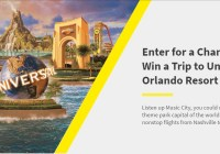 Spirit Airlines Universal Orlando Sweepstakes