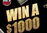 IHeartMedia Q1 Cash Sweepstakes