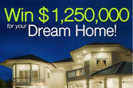PCH.com Win $1,250,000 Dream Home Giveaway