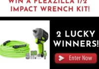 JB Tools Legacy's Flexzilla Impact Wrench Kit Giveaway