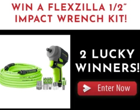 JB Tools Legacy's Flexzilla Impact Wrench Kit Giveaway