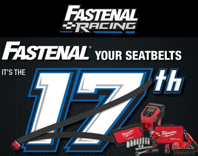 Fastenal Racing April 2020 Giveaway