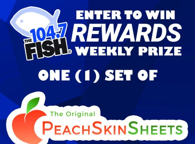 Fish Rewards Weekly Prize – Peach Skin Sheets Contest