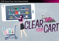 HITS 99.9 HITS Clear Your Cart Sweepstakes