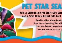 Mineragua Pet Star Search Contest