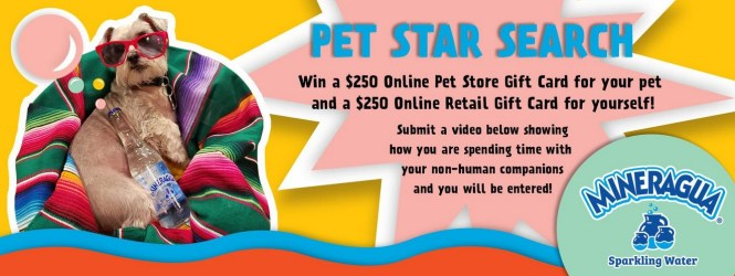 Mineragua Pet Star Search Contest