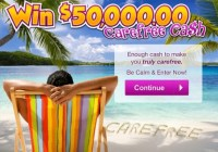 PCH.com $50000 CareFree Giveaway