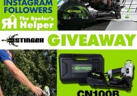 Roofer Helper 75k Instagram Giveaway