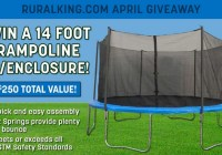 Rural King Trampoline Giveaway Sweepstakes