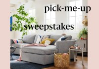 West Elm Spring Pick Me Up Sweepstakes