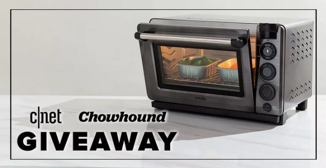 CNET And Chowhound Tovala Oven And Meals Giveaway