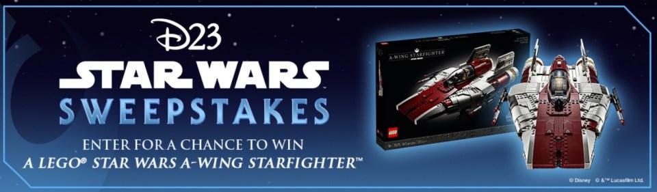 Disney D23 Star Wars Sweepstakes