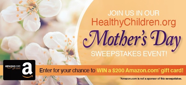 Healthy Children Mothers Day Sweepstakes
