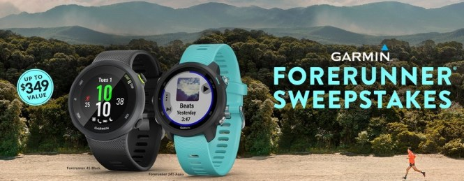 Worldwide Stereo Garmin Forerunner Sweepstakes