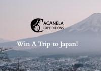 Acanela Trip To Japan Sweepstakes