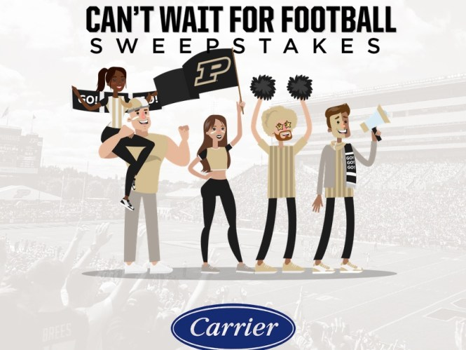 Can't Wait For Football Sweepstakes