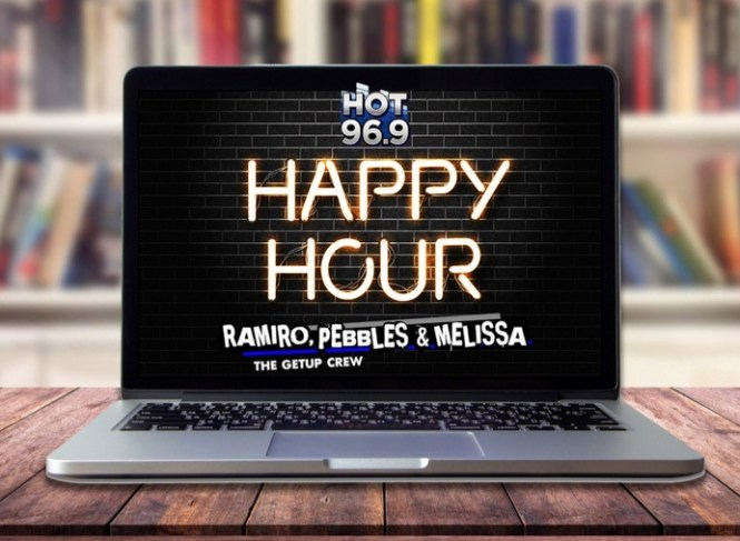 Happy Hour With Ramiro, Pebbles And Melissa Contest